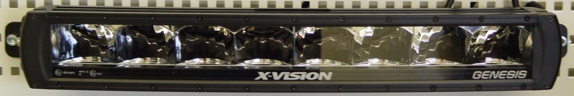 LED Lisävalo 120W X-Vision Genesis