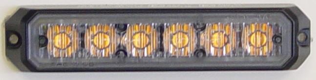 LED Vilkku 6x keltainen LED